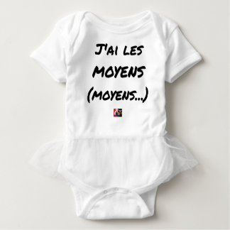 I AI MEANS (AVERAGE…) - Word games Baby Bodysuit