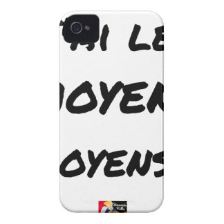 I AI MEANS (AVERAGE…) - Word games iPhone 4 Case-Mate Case