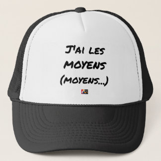 I AI MEANS (AVERAGE…) - Word games Trucker Hat
