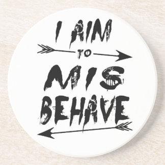I aim to mis behave coaster