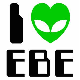 I Alien Heart EBE Photo Sculpture