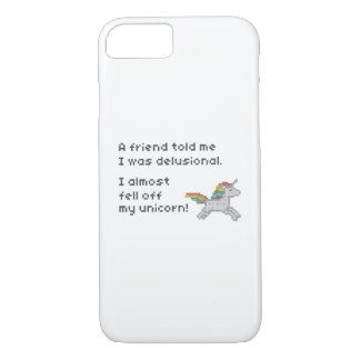 I almost fell off my unicorn iPhone 8/7 case