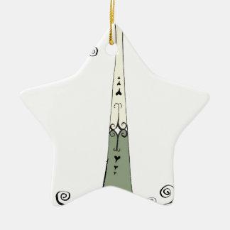 I Am 1 from tony fernandes design Ceramic Star Ornament