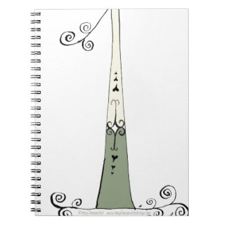 I Am 1 from tony fernandes design Spiral Notebook