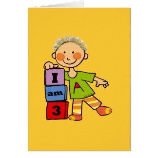 I am 3 card