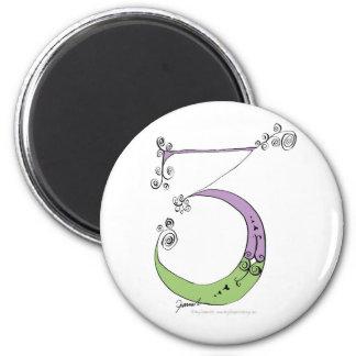 I Am 3 yrs Old from tony fernandes design Magnet