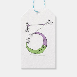 I Am 3 yrs Old from tony fernandes design Pack Of Gift Tags