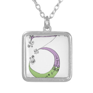 I Am 3 yrs Old from tony fernandes design Silver Plated Necklace