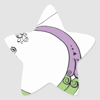 I Am 3 yrs Old from tony fernandes design Star Sticker