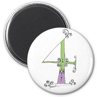 I Am 4 yrs Old from tony fernandes design Magnet
