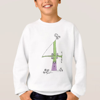 I Am 4 yrs Old from tony fernandes design Sweatshirt