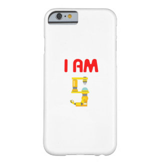 I am 5 Robots Evolution 5th Birthday 2012 Barely There iPhone 6 Case