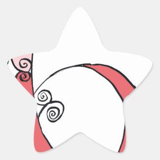 I Am 6 yrs Old from tony fernandes design Star Sticker