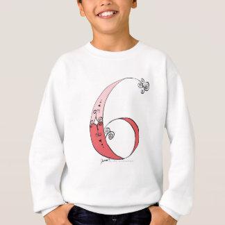 I Am 6 yrs Old from tony fernandes design Sweatshirt