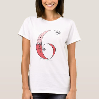 I Am 6 yrs Old from tony fernandes design T-Shirt