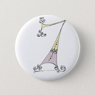 I Am 7 yrs Old from tony fernandes design 2 Inch Round Button