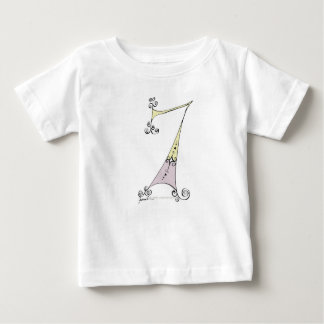 I Am 7 yrs Old from tony fernandes design Baby T-Shirt