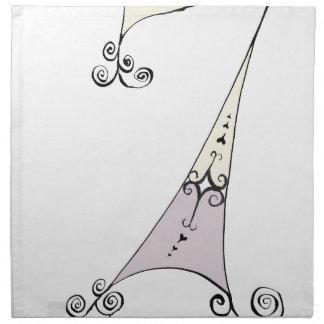 I Am 7 yrs Old from tony fernandes design Napkin