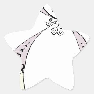 I Am 8 yrs Old from tony fernandes design Star Sticker