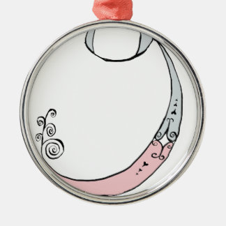 I Am 9 yrs Old from tony fernandes design Metal Ornament