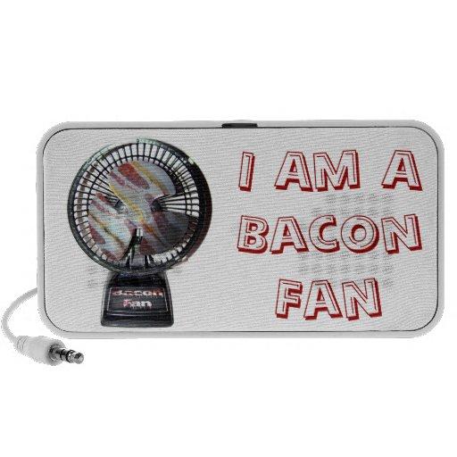 I Am A Bacon Fan iPhone Speakers