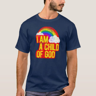 I am a Child of God LDS Christian Mormon Tee