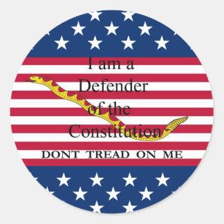 I-am-a-Defender sticker