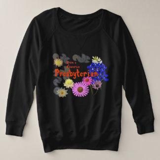 I am a diverse Presbyterian (multi-flower) Plus Size Sweatshirt