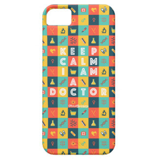 i AM A DOCTOR (Retro) iPhone 5 Cases