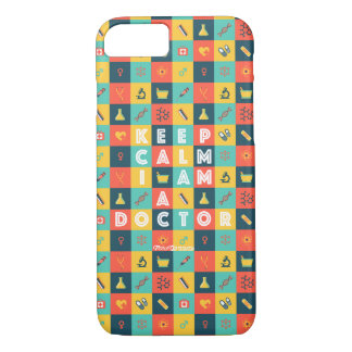 I AM A DOCTOR (Retro) iPhone 7 Case