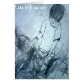 I am a dreamer manga anime card