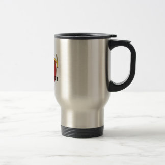 I AM A HAPPY MAGNET STAINLESS STEEL TRAVEL MUG