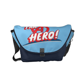 I Am A Hero! Courier Bags