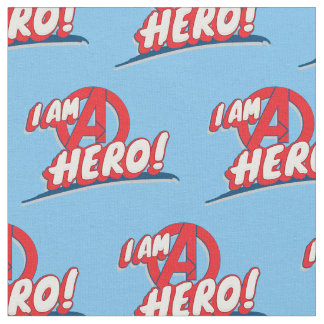 I Am A Hero! Fabric