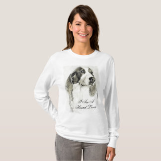 I am a hound lover shirt
