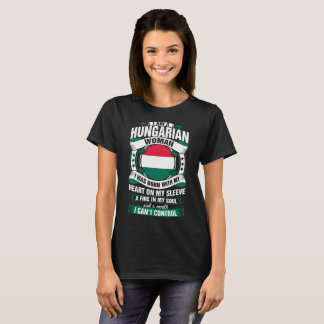 I Am A Hungarian Woman Tshirt