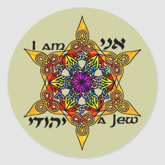 I Am a Jew Stickers