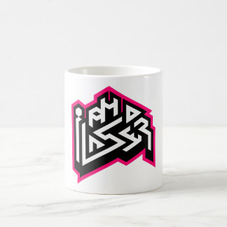 I AM A LASER: 11oz Fuchsia Coffee Mug