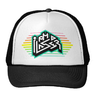 I AM A LASER: Dope Style Trucker Hat! Trucker Hat
