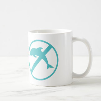 I am a marine biologist and kinda hate dolphins coffee mug