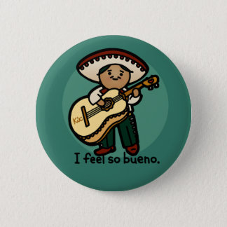I am a music man. 2 inch round button
