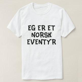 I am a Norwegian fairy tale in Norwegian white T-Shirt
