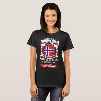 I Am A Norwegian Woman Tshirt