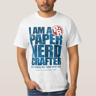 I am a Paper Nerd Crafter T shirt