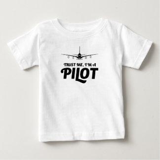 I am a Pilot Baby T-Shirt