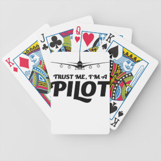I am a Pilot Bicycle Playing Cards