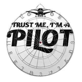 I am a Pilot Dartboard