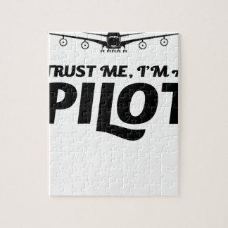 I am a Pilot Jigsaw Puzzle