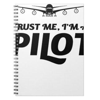 I am a Pilot Notebook