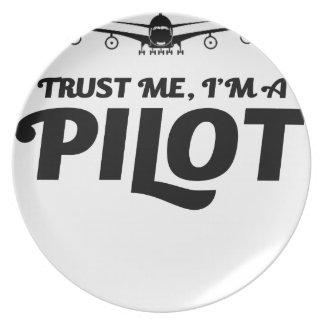 I am a Pilot Plate
